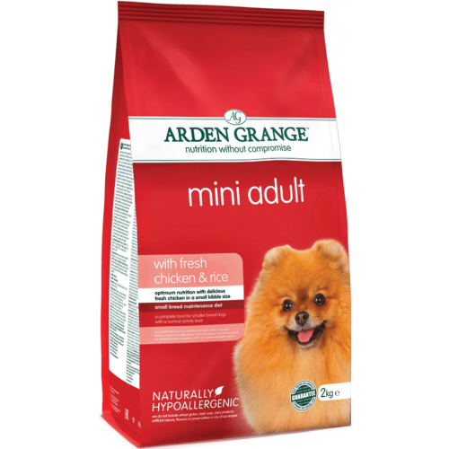 ARDEN GRANGE DOG CHICKEN & RICE MINI